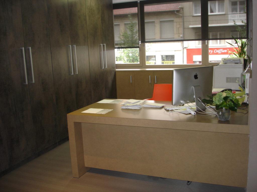 Agencement de bureaux professionnels avec dma